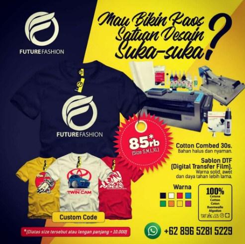 Jasa Desain Kaos Online Berkualitas Di Tangerang